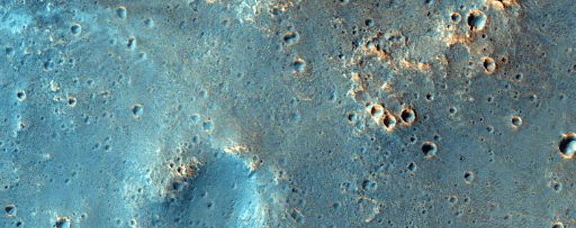 Moguća lokacija slijetanja ESA-ine misije ExoMars 2020 (FOTO: NASA/JPL/University of Arizona)