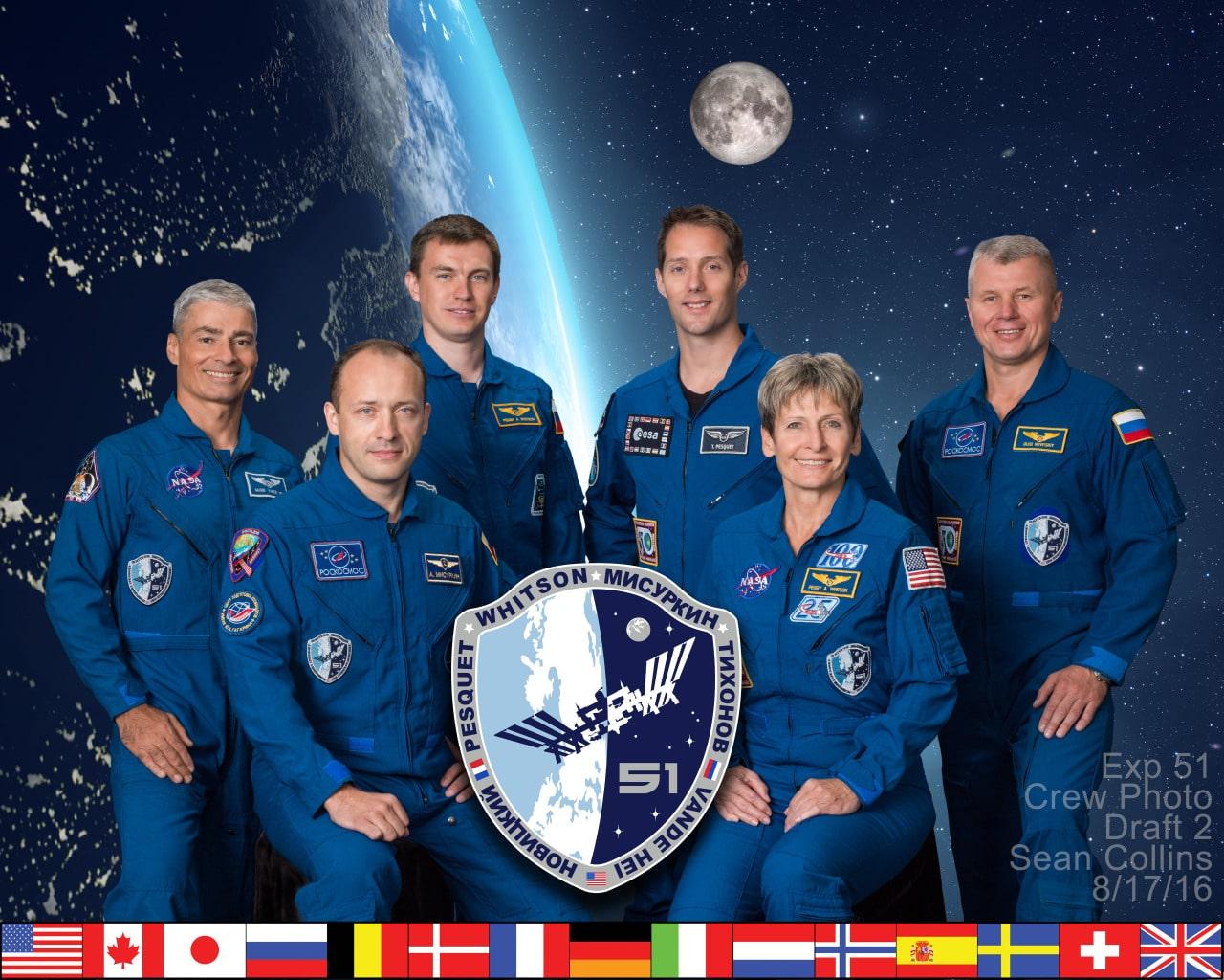 Članovi Ekspedicije 51 (Foto: NASA)