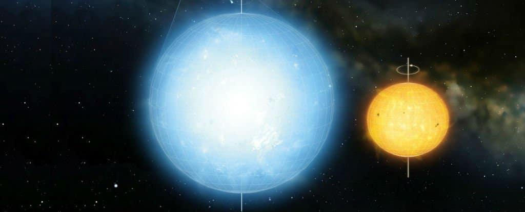 Usporedba Keplera 11145123 i našeg Sunca (FOTO: Laurent Gizon et al/Mark A Garlick)