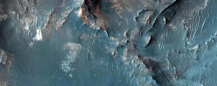 Još jedna moguća lokacija slijetanja misije Mars 2020 (FOTO: NASA/JPL/University of Arizona)
