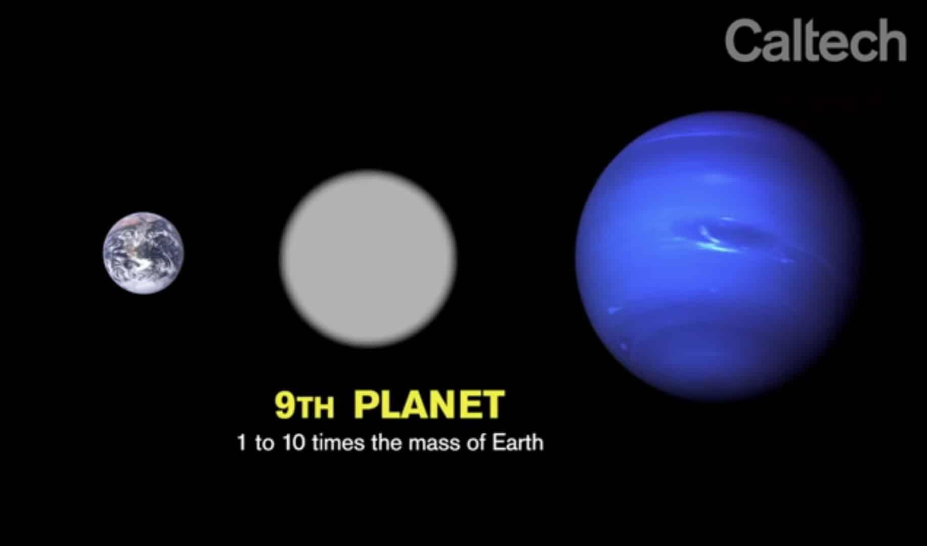 Procjene kažu kako je masa devetog planeta i do deset puta veća od Zemljine