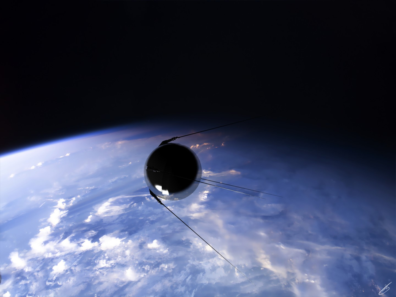 Prvi satelit lansirao je Sovjetski Savez 1957. godine (Foto: Deviantart)