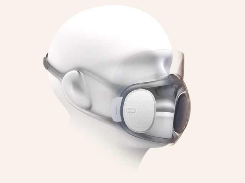Samo-dezinficirajuća zaštitna maska