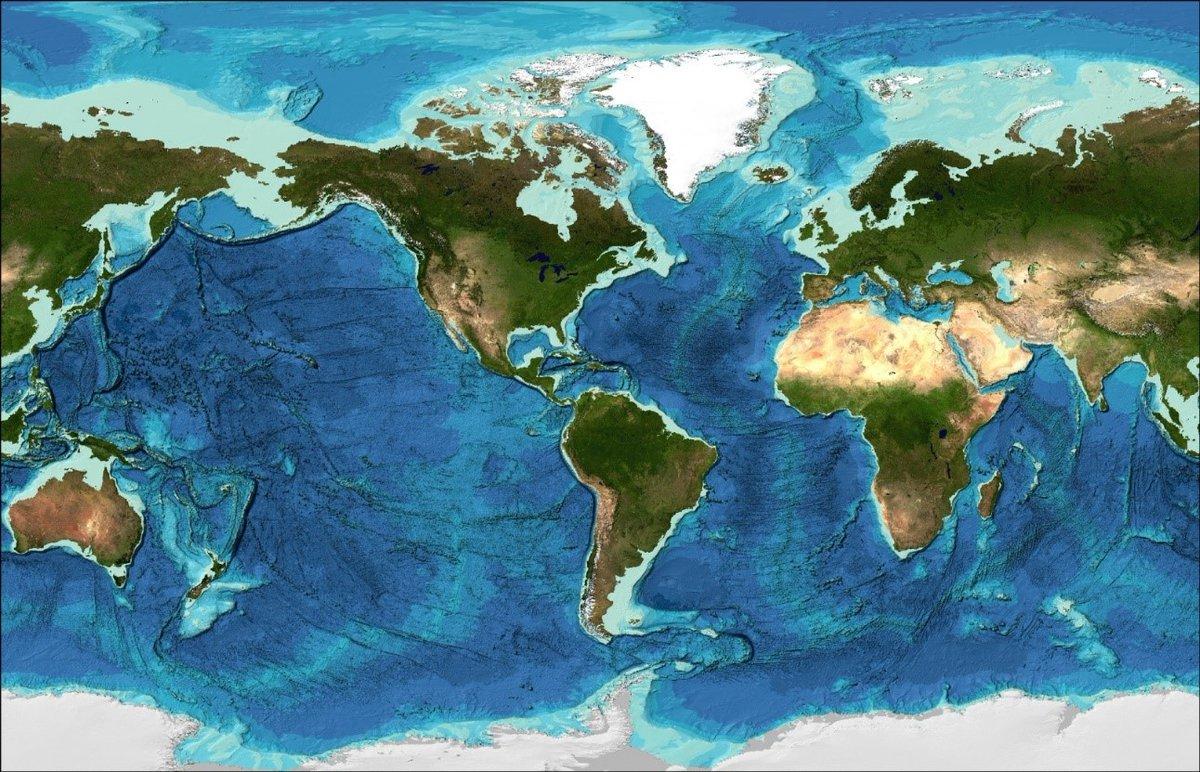 Mapirano skoro 20 posto morskog dna na Zemlji