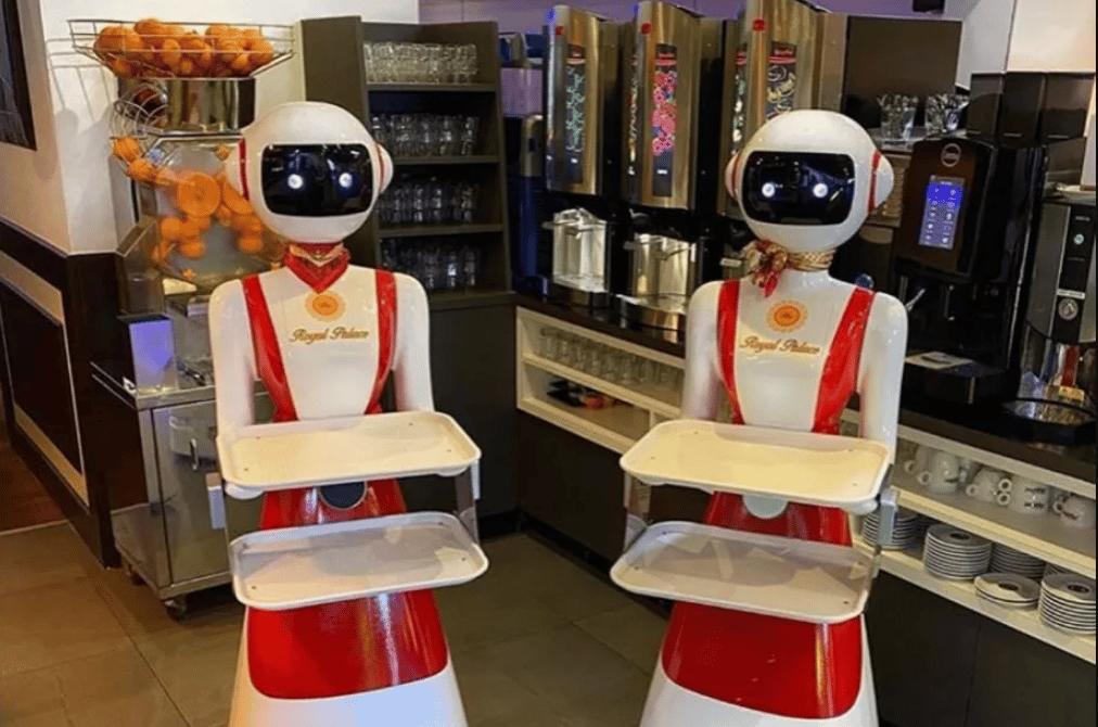 Restoran u Nizozemskoj koristi robote-konobare