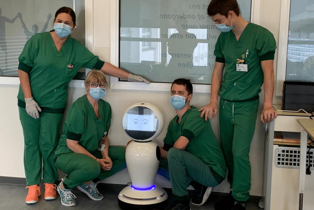 U Belgiji roboti mjere temperaturu i kontroliraju nošenje maski