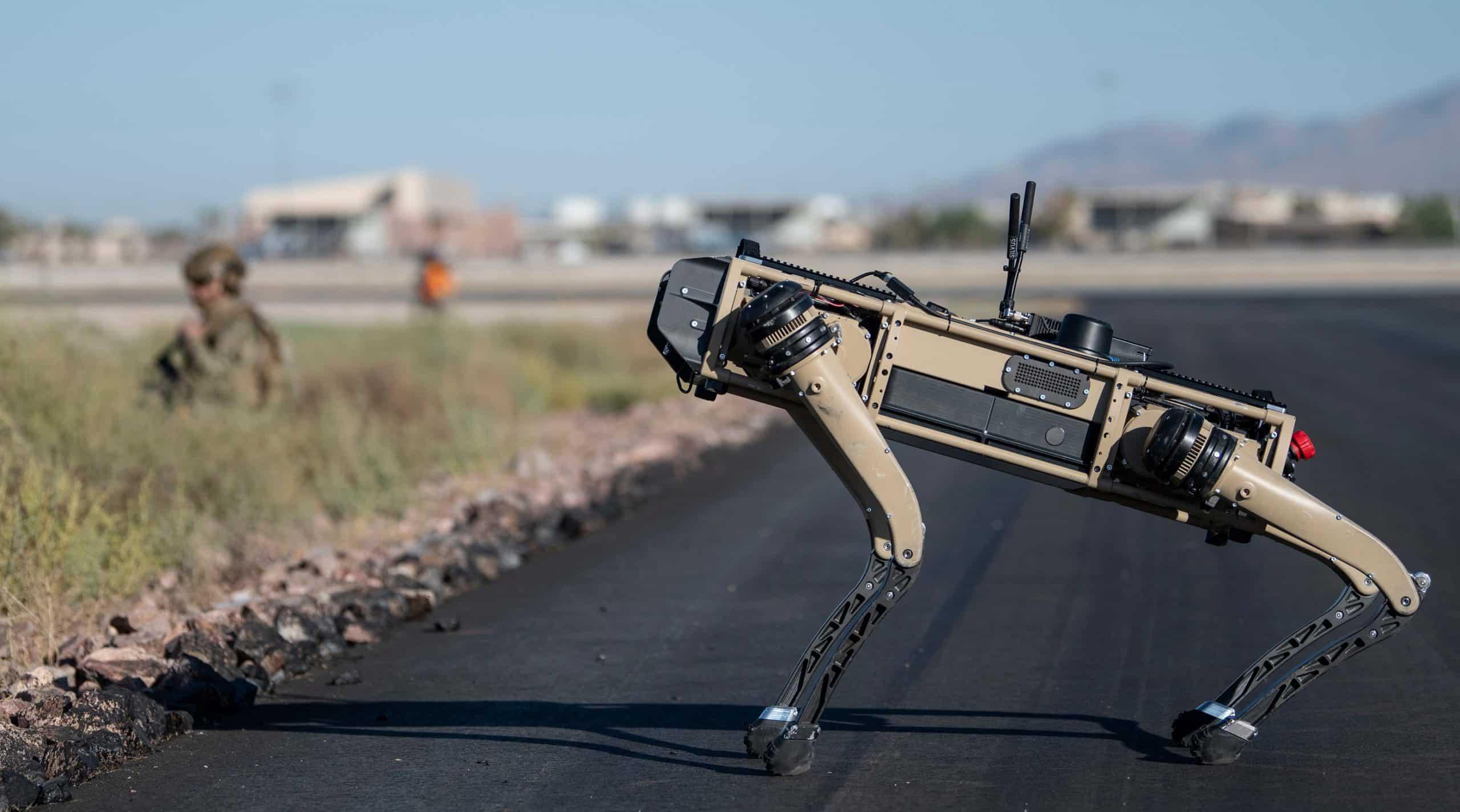 Ratovanje budućnosti: Robotski psi pridružili su se vježbi američkih vojnika