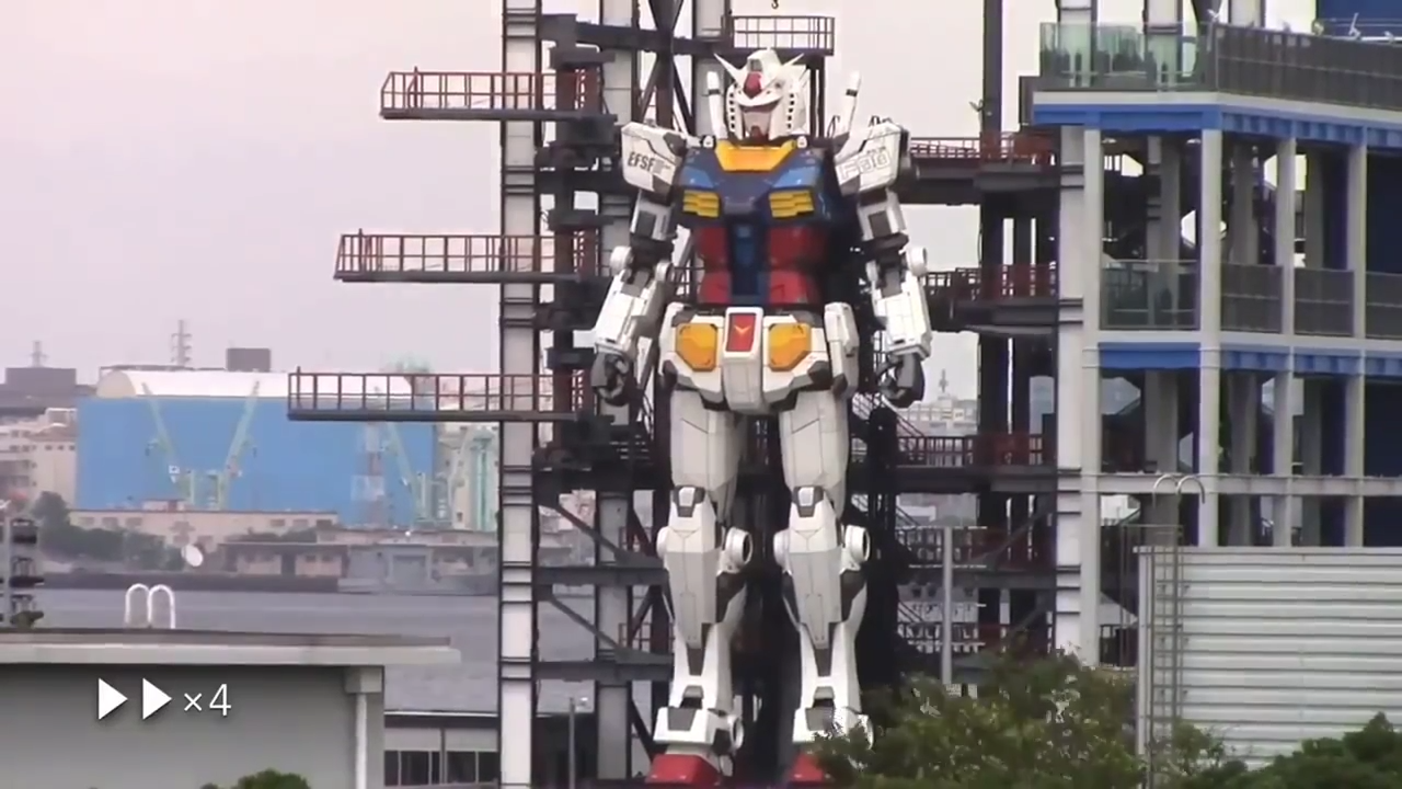 Humanoidni robot Gundam težak 25 tona pokazao svoje mogućnosti