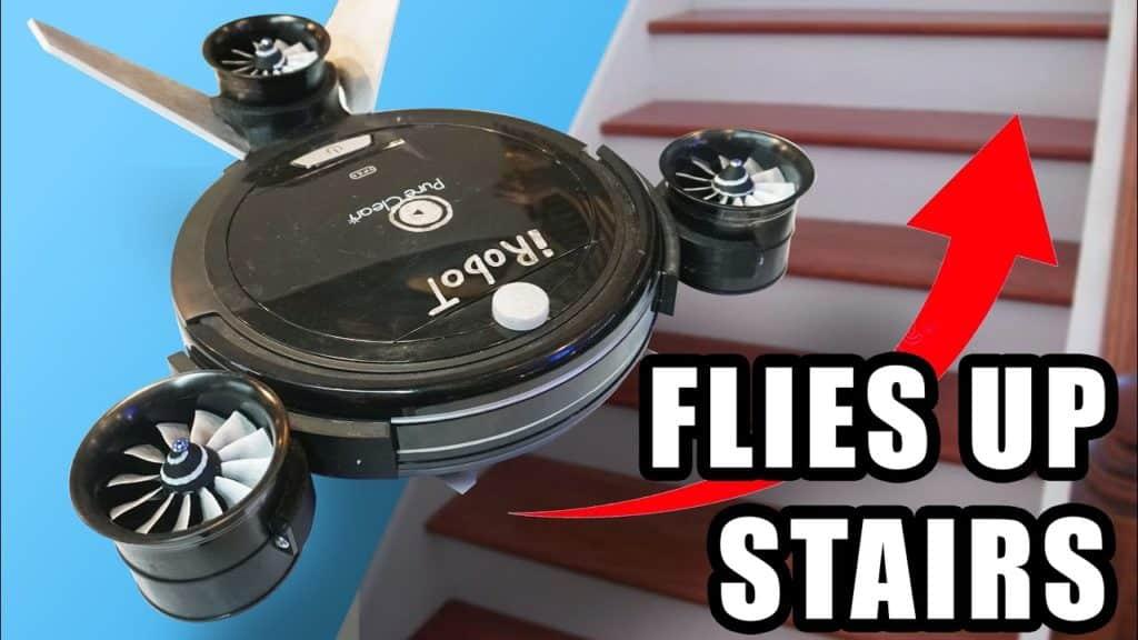 Inženjer pretvorio robotski usisavač u dron