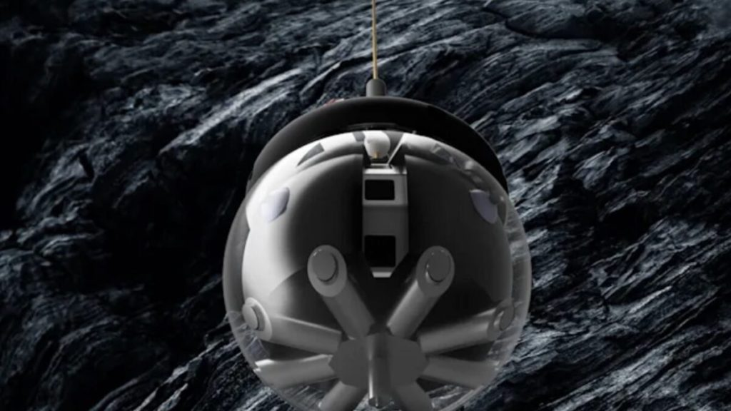 """""""Hamster ball"""" robot mogao bi istraživati špilje na Mjesecu"""
