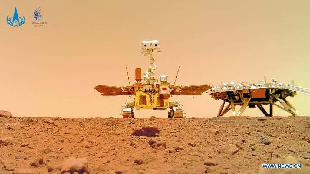 Kina objavila nove fotografije s površine Marsa